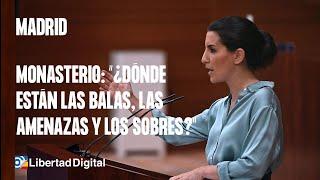 Monasterio, en la Asamblea de Madrid: