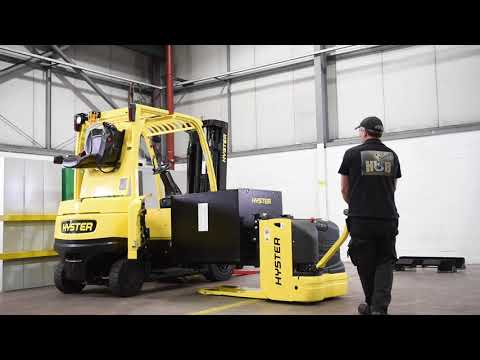 Hyster - J2.2-3.5XN SBE Battery Removal Hinged Doors