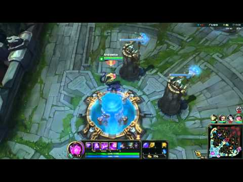 Vel'Koz playing League Of Legends AMD Radeon R9 Fury X
