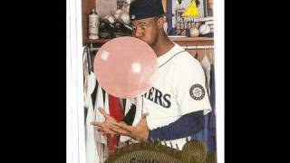 Ken Griffey Jr Tribute through cards 1989 to 2001