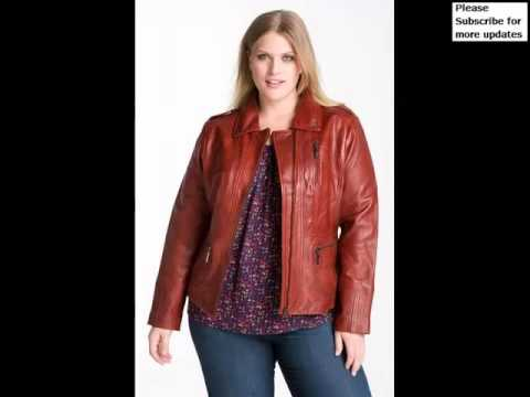 Collcetion Of Dress Of Leather Plus Size Jacket Picture Ideas