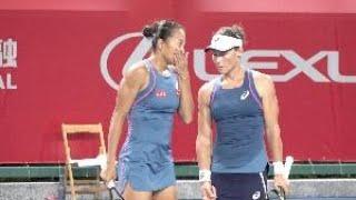【香港網球公開賽】張帥斯托瑟攜手打入女雙8強