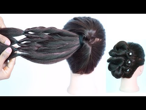 new amazing trick for new different hairstyle || latest hairstyle || trending hairstyle || hairstyle thumbnail