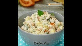 Чувашский салат (Чувашская кухня)
