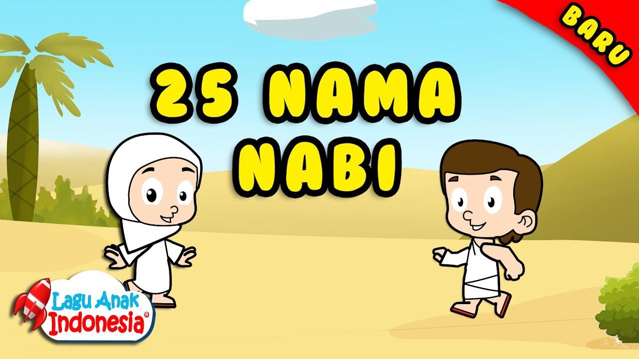 lagu anak islami nama nama nabi lagu anak indonesia nursery rhymes asma alanbya