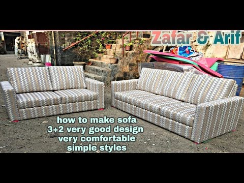 How to make sofa New design  3+2 Made by ABKN FURNITEC very