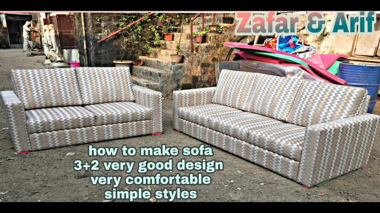Cara Membuat Sofa Bed Sendiri Unique Sofaset How To Make Sofa Set New Design 3 2 Most Stylish Design Sofa Set