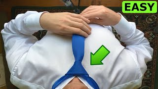 How to tie a tİe easy - Windsor knot
