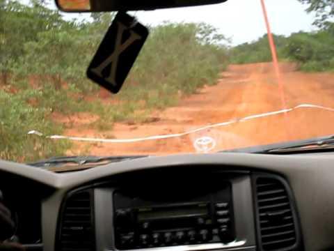 Road to Syama Mine in Mali