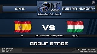 NationsCup XVII - Group Stage - Spain vs Austria-Hungary