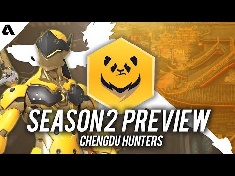 Chengdu Hunters - Overwatch League Season 2 Team Preview