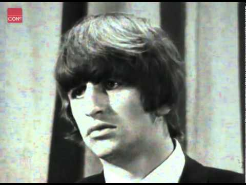 Beatles member Ringo Starr in an interview after his operation