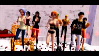 MMD One Piece (feel the sound)