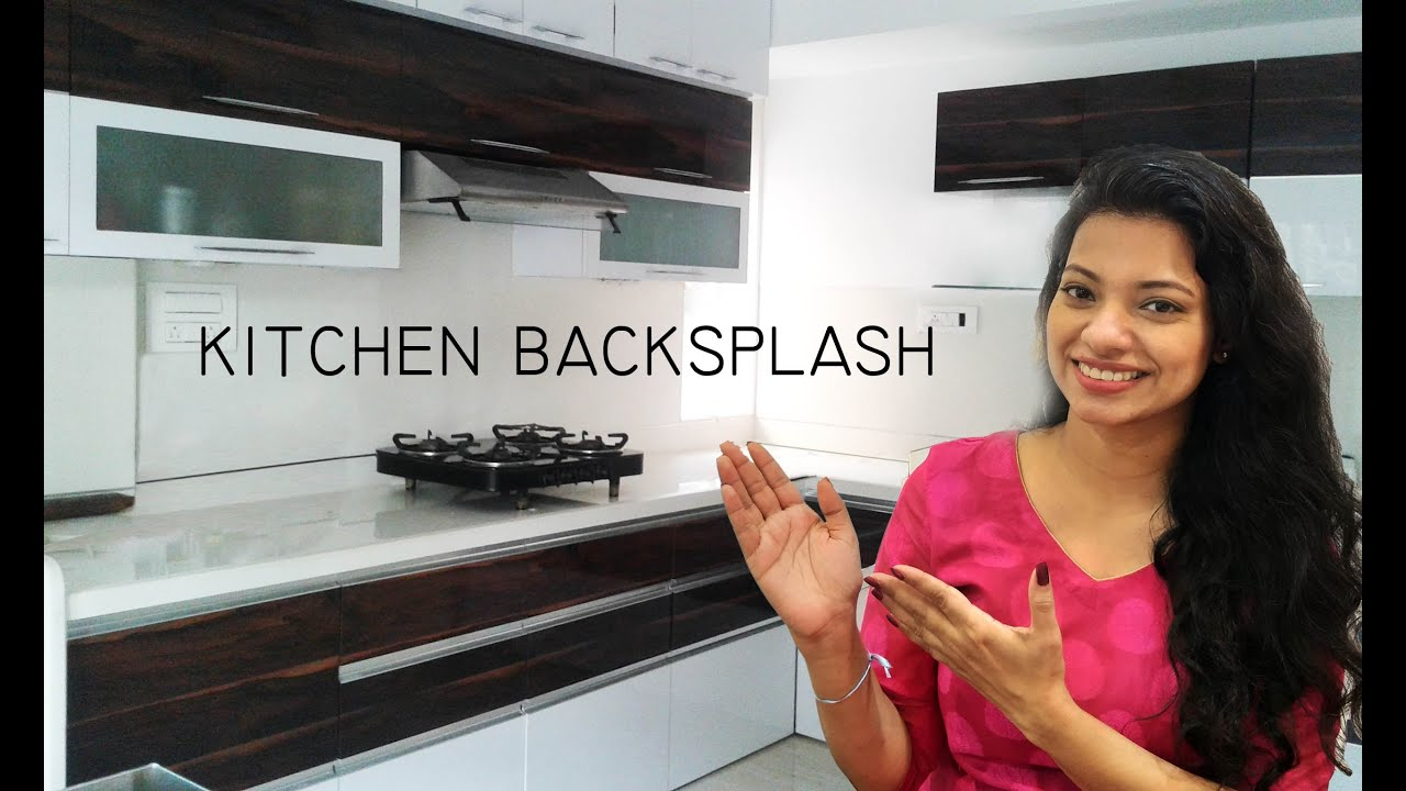 - Kitchen Backsplash Ideas India - Tiles, Quartz, Marble, Back Painted Glass,  G5, किचन का डिजाइन - YouTube