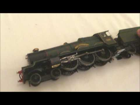 hornby BR CASTLE CLASS LOCOMOTIVE ,EARL OF ST GERMANS, WITH TTS SOUND unboxing