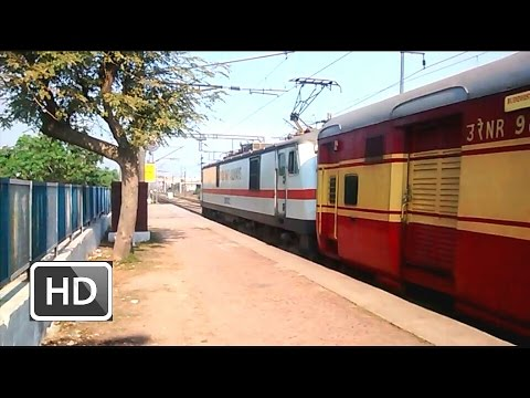 "[IRFCA] - ""Buddhist Circuit Special Mahaparinirvan Express with HWH WAP7 Locomotive"" !!"