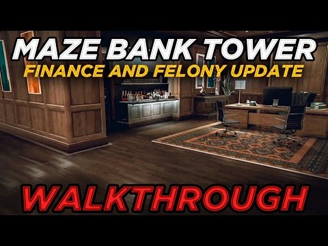 Buying the Maze Bank Tower $4M Executive Office (Further Adventures in Finance and Felony Update)