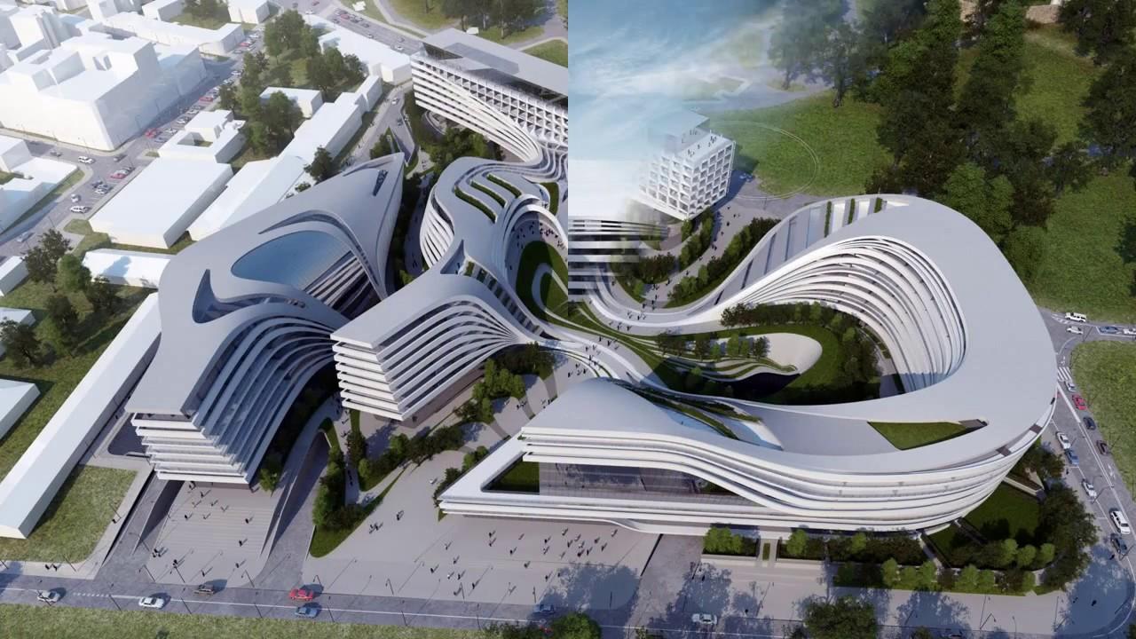 Beograd, Serbia - Futuristic Architecture Projects - YouTube