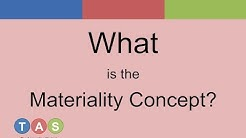Materiality Accounting