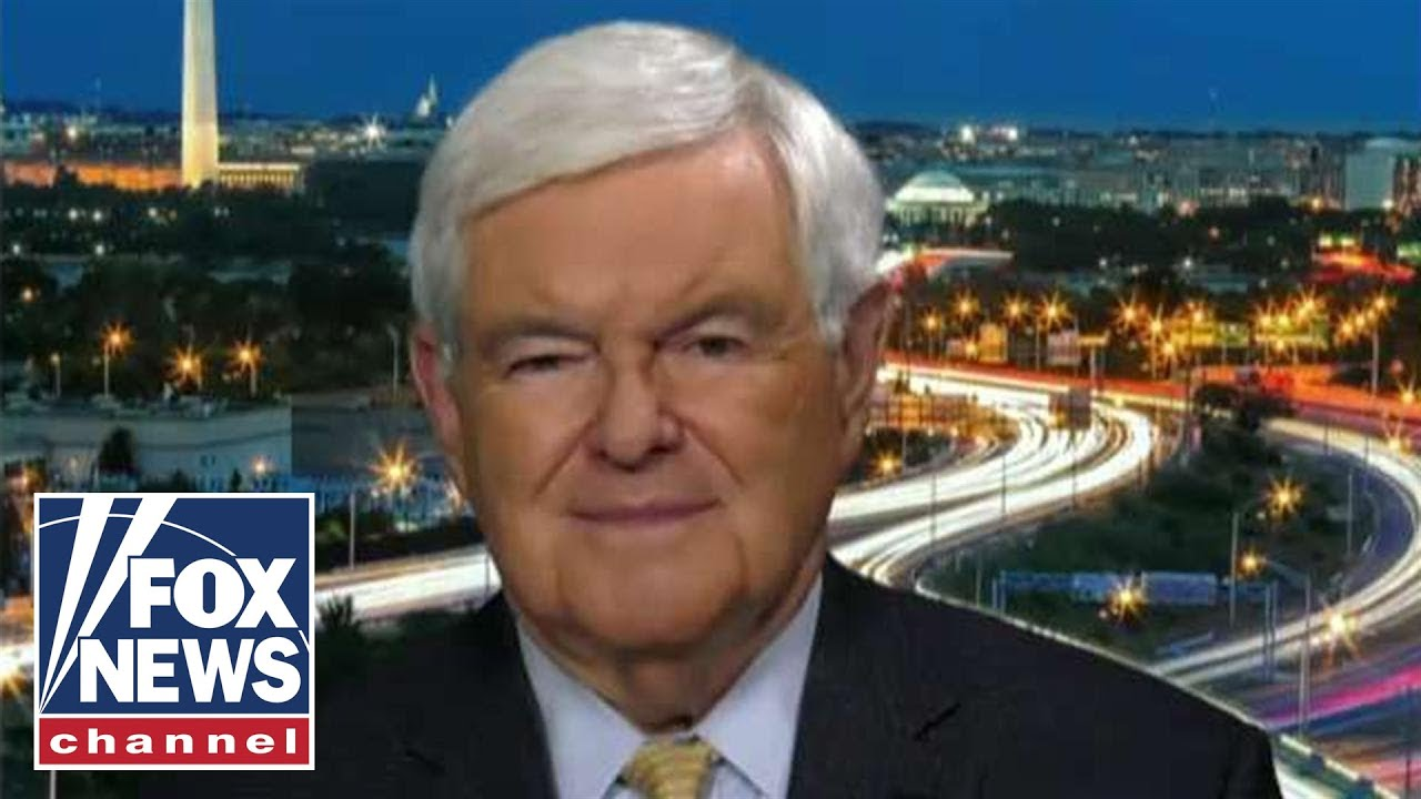 FOX News Gingrich: Dems have a pathological need to destroy Trump