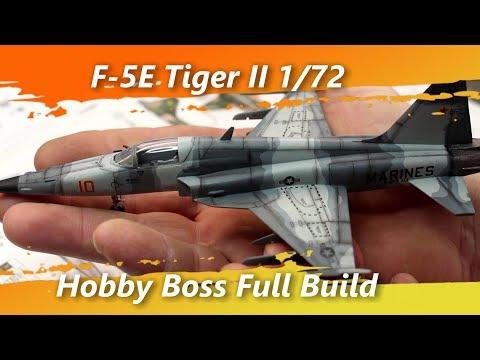 F-5E Tiger II 1/72 Hobby Boss Full Build
