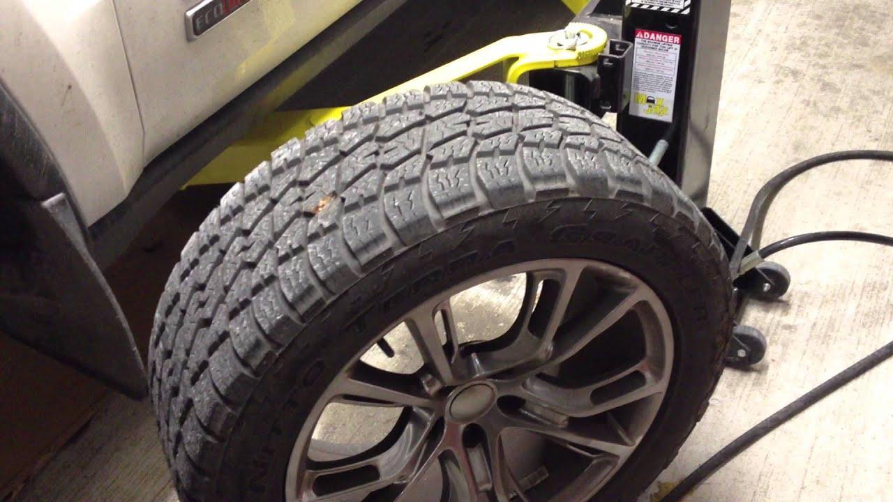 Jeep srt brakes