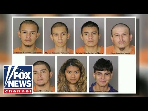 Six illegal immigrant MS-13 gang members charged in Maryland murder