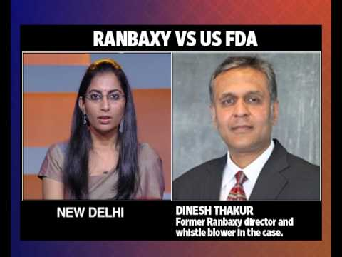 Dinesh Thakur on Ranbaxy US FDA case