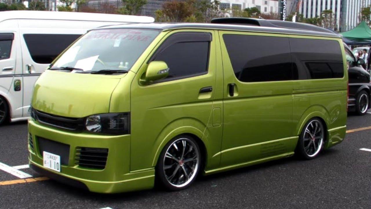 2011 hiace custom car show japan tokyo part1 sbm youtube - Foto van de show ...