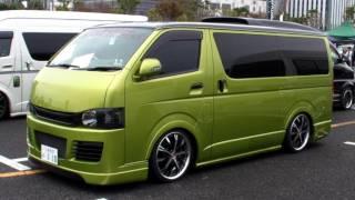2011 HIACE CUSTOM CAR SHOW JAPAN TOKYO Part1 SBM スタイルボックスミーティング