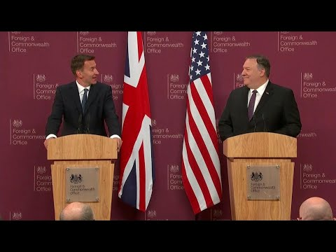 Press Availability with UK Foreign Secretary Jeremy Hunt in London