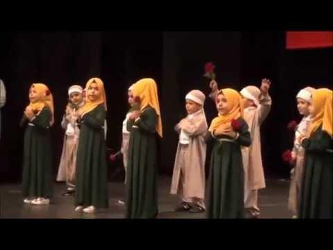 Vahdet Vakfı Antalya Temsilciği Vahdetin İncileri Sübyan Kursu Mezuniyet Töreninden  gül Muhammed