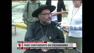 Cochabamba: La población salió a las calles para hacer respetar el paro