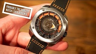 DWISS RS-1 Automatic Watch Review - Unique Way to tell Time!