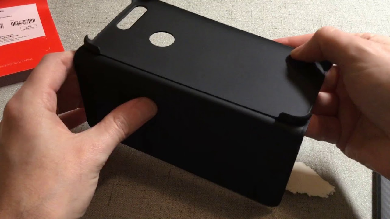 wholesale dealer e7c9a 80a04 Official OnePlus 5T Flip Cover Unboxing and Review