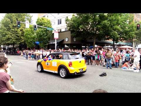 2014 Olympia, Wa. Gay pride festival parade