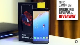 Tecno Camon CM - Unboxing and Review