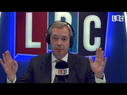 The Nigel Farage Show: Roadshow Live From Manchester. Live LBC - 22nd May 2017
