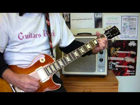 How to play EAGLE ROCK Daddy Cool Guitar Lesson [Full Song] by Guitars Rock