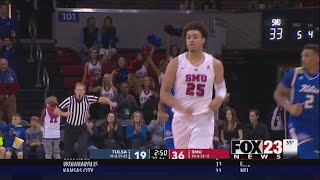 VIDEO - Former Union star Ethan Chargois helps SMU blow out Tulsa