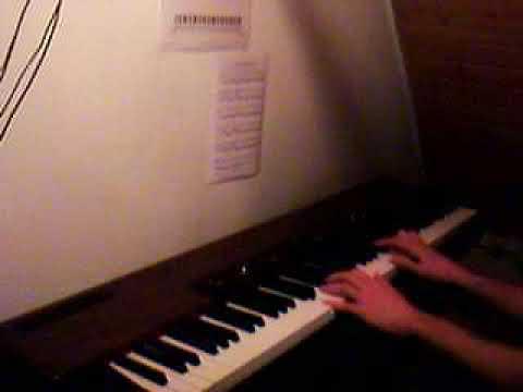 Pavane per Laudomia Original Klavier Thema aus der Geisterbahn / Geisterschloss des Europa Park