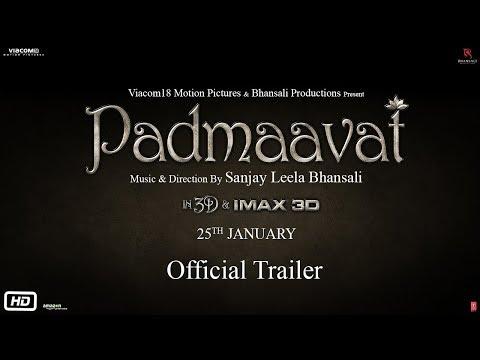 Padmaavat   Official Trailer   Ranveer Singh   Shahid Kapoor   Deepika Padukone