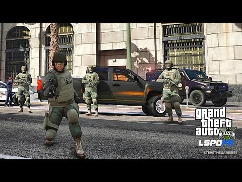 GTA 5 LSPDFR 0.3.1 - EPiSODE 404  - FBI/ SWAT(GTA 5 REAL LIFE POLICE MOD) #ThankYouDrPepper
