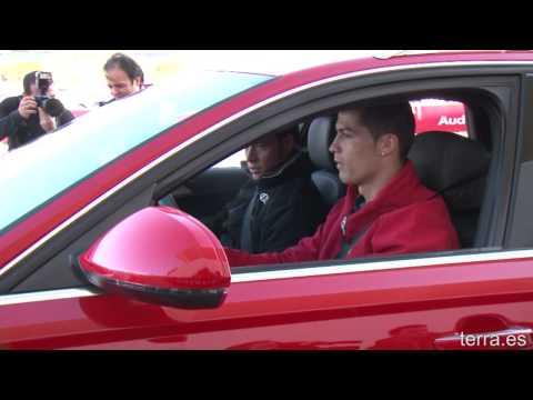 Audi hace la entrega de coches al Real Madrid