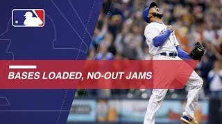 Best bases loaded, no-out jams escaped in 2018