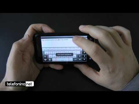 HTC Incredible S videoreview da Telefonino.net