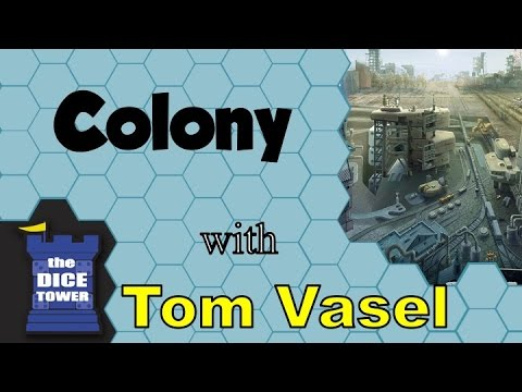 Colony Review -  with Tom Vasel