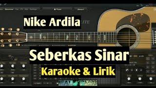 Download Lagu Seberkas Sinar - Nike Ardila Karaoke dan lirik versi akustik mp3