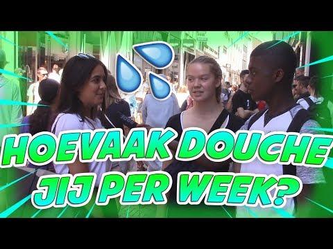 HOEVAAK DOUCHE JIJ PER WEEK? - AMSTERDAM