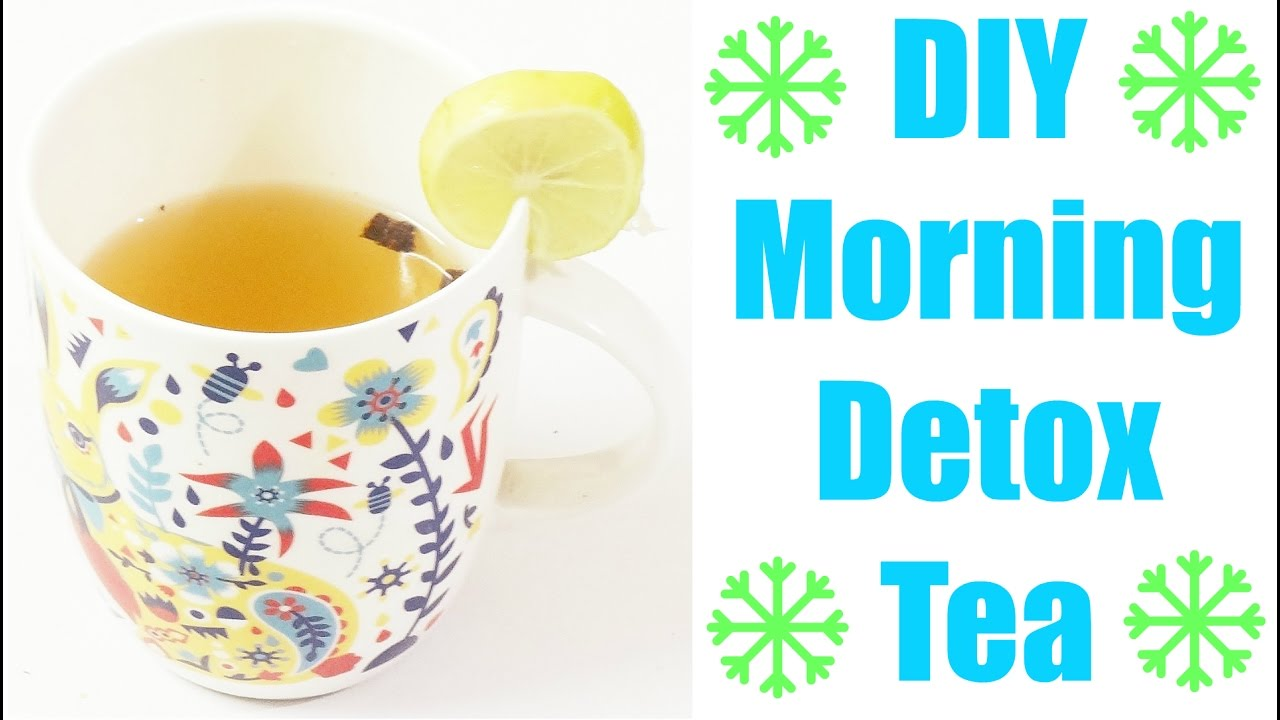 DIY Morning Detox Tea | Flat Stomach | Lose Belly Fat | Weight Loss